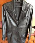 Куртка-пиджак натуральная кожа, sleeping dogs одежда меню, Санкт-Петербург