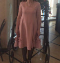 Дешевые свадебные платья больших размеров, платье нежно - розовое