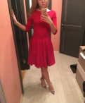 Спортивная одежда и обувь пума, продаю красное платье
