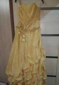 Шифоновое платье в пол на выпускной, платье бальное