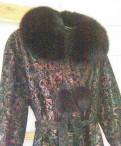 Женский замшевый плащ с теснённым цветным рисунком, одежда для девушек пышных форм