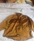 Куртка мужская демисезонная в стиле милитари, золотая рубашка
