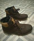 Зимние ботинки б/у, 42 размер, тёплые, интернет магазин мужских классических костюмов, Бокситогорск