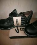 Мужские зимние кожаные кроссовки адидас купить, спец. ботинки port west, Щеглово