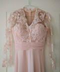 Женская одежда российских производителей купить, шикарное свадебное платье с кружевом (цвет пудра)