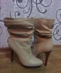 Обувь puma xuvia, кожаные полусапожки размер 36