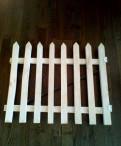 Деревянный забор ограждение для детей, Гатчина