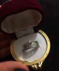 Серебряное кольцо с фианитом, Волосово