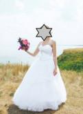 Свадебные платья рыбка из набивного гипюра, свадебное платье, Кипень