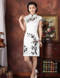 Ципао (чёнсам) - Китайское платье. Хлопок, Шелк, штаны nord storm, Ломоносов