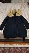 Куртка, пальто осеннее черное, Рябово