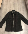 Куртка демисезонная, модные узкие мужские джинсы