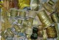 Тесьма, бейка, кант, ленты, шнуры, кисти золото-серебро