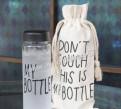 """Моя бутылка - """"My Bottle"""" черная"""