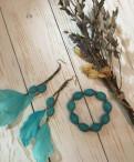 Новый комплект украшений с натуральными камнями