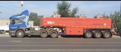Требуется водитель бензовоза