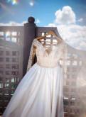 Летние платья 2018 от российских дизайнеров, свадебное платье