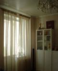 Шторы б/у полупрозрачные, коричнево-бежевые, 2 окн, Назия
