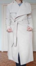 Pelican пижама купить, пальто - из Манго - бежевое