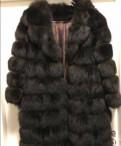 Шуба с английским воротником из песца под соболь, dekka пальто купить в интернет магазине цена, Парголово