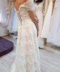 """Свадебное платье """"бохо"""", красивые летние платья для полных женщин на юбилей 45 лет, Бокситогорск"""