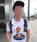 Футболка Марио, мужские свитера на молнии вязанные, Бокситогорск