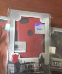 Чехол новый pixel 2 кожа чёрный синий красный