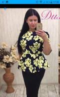 Платья ниже колен трапеция, костюм новый 54 размера
