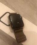 Apple watch series 4 44mm steel gold Milanese Loop