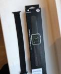 Стальной браслет для Apple Watch series 4 42мм, Глебычево