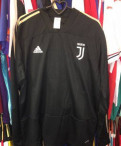 Спортивный костюм футбольный adidas Juventus, футболка камуфляж синий, Металлострой
