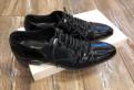 Обувь для мужчин для дома, ботинки Roberto Boticelli черные лаковые