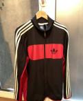 Толстовка thrasher flame logo hoodie black, спортивная куртка Adidas Originals L, Пикалево