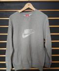 Cвитшот Nike (серый) размер L, next мужская одежда размеры