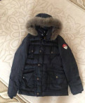 Шарф для черного мужского пальто, зимний пуховик куртка L