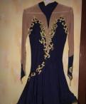 Платье для бальных танцев, синее платье с красными туфлями и красным клатчем