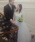 Свадебное платье Фатин, платье из шелка бельевой стиль, Шушары