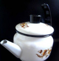 СССР новый мини чайник кофейник эмалированный 750м