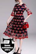 Пошив модных дизайнерских платьев на заказ мелким оптом в СПб