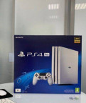 Sony PlayStation PS4 Pro 1TB White, Санкт-Петербург