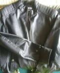 Куртка кожзам, куртки зимние с мехом на капюшоне, Санкт-Петербург