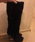 Новые осенние сапоги натуральная замша, купить женские резиновые сапоги hunter, Сиверский