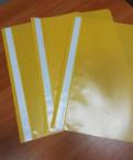Пластиковые папки-скоросшиватели тонкие