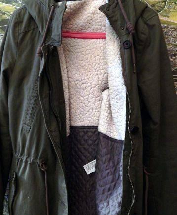 "Рубашки теплые мужские купить, куртка ""Pull bear"". размер 28, M"