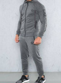 Толстовка зеленая адидас, спортивный костюм Armani