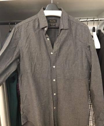 Рубашка massimo dutti, интернет магазины одежды из европы