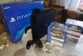PS4 pro + игры