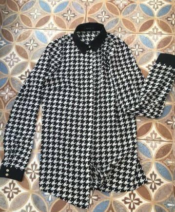 Шифоновая блуза mohito, одежда для худых женщин после 50 лет