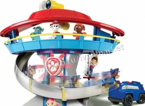 База Щенячий патруль и другие игрушки