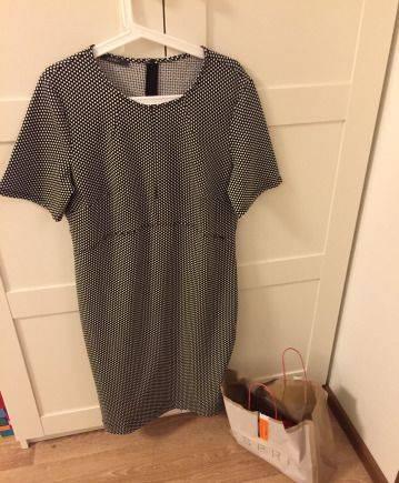 Платье трапеция с рукавом 3\/4, платье esprit, XL